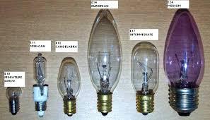 chandeliers candelabra bulb base size candelabra light bulb base