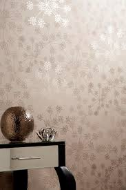 sparkle beige floral wallpaper flower wall coverings by