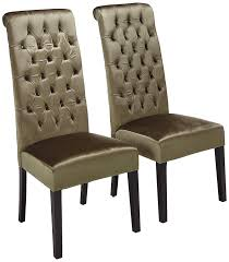 Christopher Knight Home 302114 Leorah Tall Back Tufted Grey Velvet Dining  Chair, Dark Brown Fabric Ding Chairs High Wingback Chair Black Skirted Side Tufted Updated Vintage Tall Tufted Ding Chairs Linen Print Key And Lock Fniture Upholstered With Perfect Fishing Touch Set Of Five Tall Back Grandview 35 Of 2 Vintage Tobacco Faux Leather Square Anthony Tall Arm Ding Chair Room Best For Sale Chair Set Jaffastreetco Arm Admirably