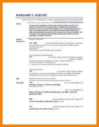 Resume Profile Example Professional 7
