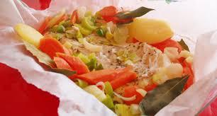 comment cuisiner le cabillaud recette dos de cabillaud au thym et ses petits légumes paléo régime