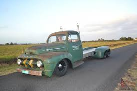 100 Rat Rod Semi Truck 1951 Ford F100 Custom Rod Hotrod F Vintage Texaco HOT ROD