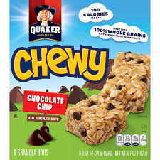 Amazon.com: Quaker Chewy Granola Bars, Chocolate Chip, 24g.Bar/8 ... Best 25 Granola Bars Ideas On Pinterest Homemade Granola 35 Healthy Bar Recipes How To Make Bars 20 You Need Survive Your Day Clean The Healthiest According Nutrition Experts Time Kind Grains Peanut Butter Dark Chocolate 12 Oz Chewy Protein Strawberry Bana Amys Baking Recipe