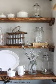 Wood Shelves Diy by Best Diy Projects Diy Dining Room Open Shelving By The Wood Grain