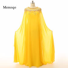 compare prices on long sleeve evening dress yellow online