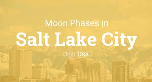 Halloween City Slc Utah by Moon Phases 2017 U2013 Lunar Calendar For Salt Lake City Utah Usa