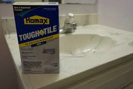 How To Use Homax TOUGH AS TILE Refinish A Sink