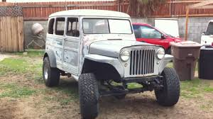 1949 Jeep Willys Wagon - YouTube 1953 Willys Jeep For Sale Classiccarscom Cc1124057 Truck Jeepsnot Jk Tj Pinterest Truck Other Peoples Cars Ilium Gazette Cohort Outtake Pickup When Pickups Were Work 1948 Jeep Willys New Test Drive Hemmings Find Of The Day 1950 473 4wd Picku Daily 194765 Jamies 1960 The Build Parkway Inspiration Dustyoldcarscom 1961 Black Sn 1026 Youtube