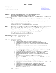 Summary Resume Examples Entry Level 18 Zasvobodu
