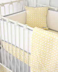Ryan s Yellow & Gray Crib Bedding