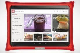 tablette cuisine qooq test cuisiner mais pas seulement avec la tablette qooq