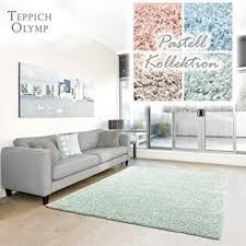 shaggy teppich pastell flauschige hochflor teppiche fürs wohnzimmer esszimmer schlafzimmer oder kinderzimmer einfarbig schadstoffgeprüft mint
