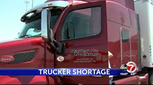 100 Trucking Companies In El Paso Tx Truck Driver Shortage Expected To Get Worse Industry Report States