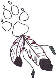 Free Coloring Pages Paw Print