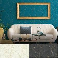 details zu vlies blumentapete modern gold weiß creme türkis schwarz wohnzimmer