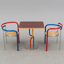 RUD THYGESEN & JOHNNY SøRENSEN, Table And Two Chairs,