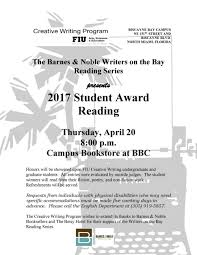 Upcoming Events | 2017 FIU Student Literary Awards Reading | FIU ... Shopfiu Office Of Business Services Florida Intertional Barnes Noble Closing In Aventura 33180 Salad Creations Restaurants Comcement News At Fiu University Losses Blame It On Harry Potter How It Works One Card Home James Morsut Blog As If No One Is Reading Provost Office And