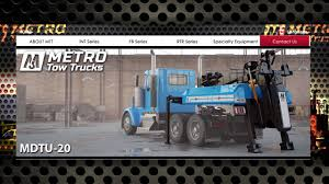 Manufacturers Spotlight: Metro Tow Trucks MDTU-20 Wrecker - YouTube Body Shop In Oklahoma City Metro Ford Of Okc Collision Repair Equipment Sales Service Ltd Warrensville Heights Oh Dealer Commercial Truck Used Truck Sales And Finance Blog Cars Foley Mn Trucks Midstate Peterbilt New York The Best In Business 2015 Peterbilt 389 For Sale Grandville Michigan Truckpapercom D Wreckers Dd For Memphis At Serra Chevrolet Dealership Surrey Hallmark Pride And Class Mi 5003788410 Intertional