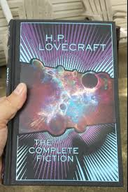 Lovecraft I Finally Tore Off The Plastic That Wrapped HP Complete Fiction