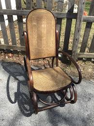 Thonet Bentwood Chair Cane Seat by Bentwood Rocker Chairs Ebay