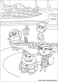 Inside Out Online Coloring Pages Printable Book For Kids 9