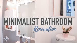 minimalist bathroom renovation minimalist family home bathroom tour