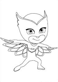 Pj Masks Coloring Pages Line Drawings
