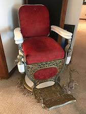 Theo A Kochs Barber Chair Footrest by Antique Theo Kochs Barber Chairs Ebay
