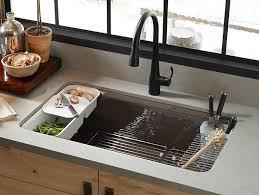 33x22 Undermount Kitchen Sink by K 5871 5ua3 Riverby Under Mount Kitchen Sink With Accessories