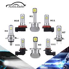 2pcs car led headlight bulb h1 h3 h4 h7 h11 h8 9005 9006 1500lm