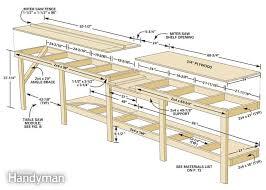29 original table saw workbench woodworking plans egorlin com
