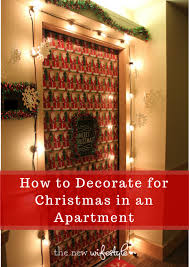 How To Decorate For Christmas In An Apartment
