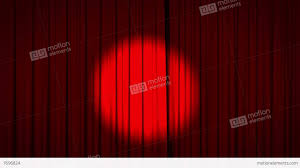 Sheer Curtain Fabric Crossword by Empty Stage With Red Curtains And Spotlight Image Yayimages Com Of
