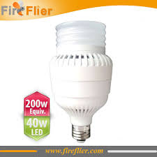 e26 e27 led bulb 40w replacement of 200w incandescent bulb 100w