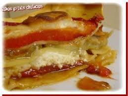 cuisiner les poivrons rouges délicieuses lasagnes aux poivrons rouges chèvre et aubergines