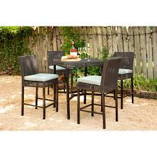 Amazon.com: Hanover MALDN5PCBR-BLU Malta 5-Piece High-Dining Patio ... Fascating Table Argos Repel Tables Corner St Design Standard Charthouse Counter Height Ding And 6 Stools Gray Value Bar Sets Canada Small Black Square Dinette Round Tommy Bahama Outdoor Living Kingstown Sedona 3 Piece Pub Set 25 Best Bar Stool Patio Set 59 Beautiful Gallery Ipirations For Patio Hire Chairs Target Highboy Space Office Room Chair Darlee Mountain View Cast Alinum Sling High Fniture And In Orland Park Chicago Il Darvin