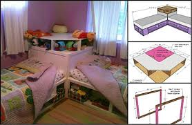 Incredible Corner Beds With Storage and Best 25 Corner Twin Beds