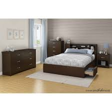 Wayfair Queen Bed by South Shore Fusion 54 60 U0027 U0027 Full Queen Bookcase Headboard Multiple