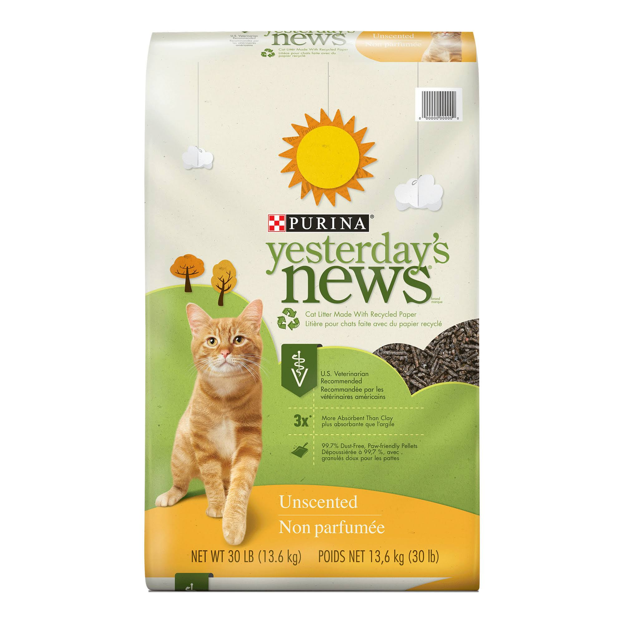 Purina Yesterday's News Cat Litter - Unscented