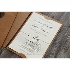Simply Rustic Wedding Invitation Card Design PWI115085