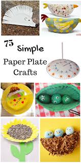 So Many Simple Paper Plate Crafts For Kids These Are Perfect