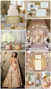 GLITTERY NEUTRAL WEDDING THEME IDEA