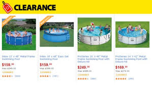 Clearancepools Walmart HOT Clearance Prices On Pools