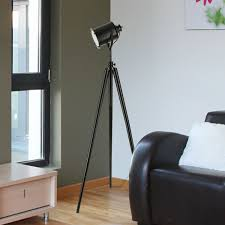 Surveyor Floor Lamp Tripod by Elegant Tripod Floor Lamp With Wooden Frames Also Bowl Chrome