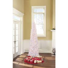 9 Ft Pre Lit Pencil Christmas Tree by Holiday Time Pre Lit 9 U0027 Brinkley Pine Artificial Christmas Tree