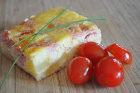 quiche sans pâte clafoutis jambon fromage pomme de terre