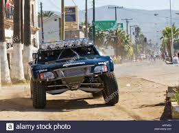 100 Trophy Truck Racing 3 Trophy Truck Of Riviera Racing Near Start In Ensendada 1296 Miles