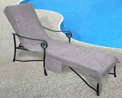 Terry Cloth Lounge Chair Covers With Pillow by Freeport Park Chaise Lounge Cover Wayfair