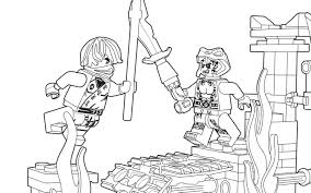 Lego Coloring Pages Ninjago