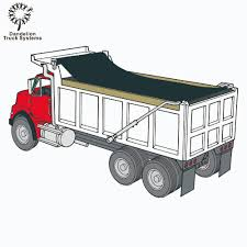 100 Dump Truck Tarp Roll Rite Ing System Flip Arms Buy